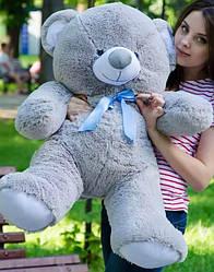 Плюшевые медведи Плюшевый медвежонок 1 МЕТР, Серый
