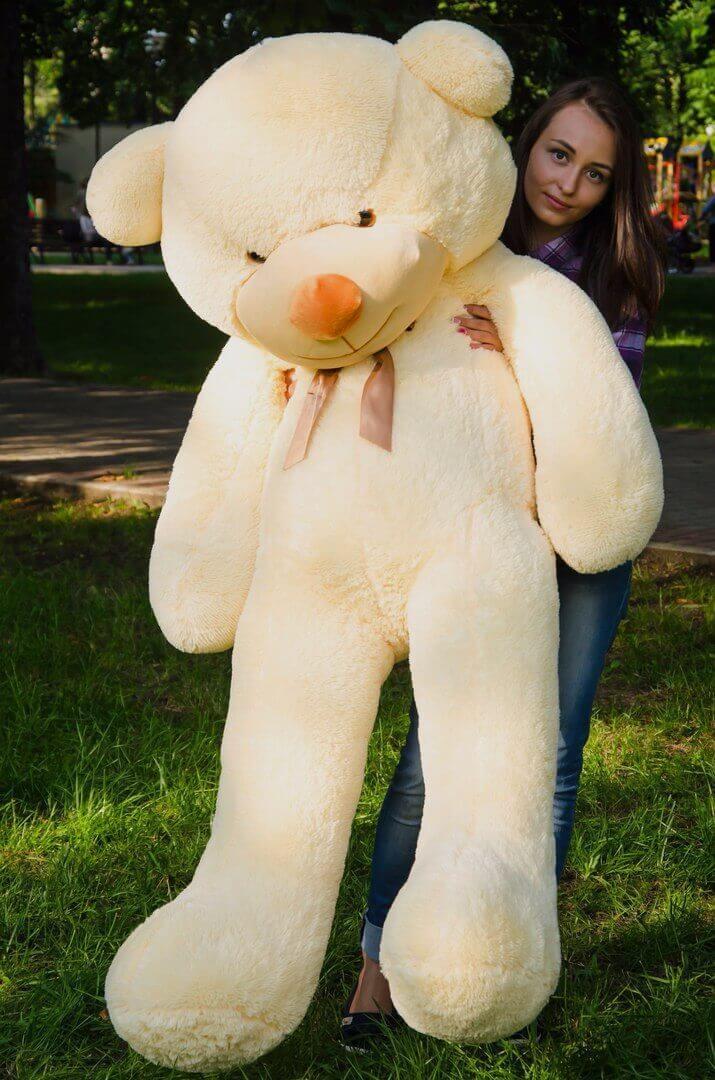 Плюшеві ведмеді Плюшевий ведмедик 1.8 МЕТРА, Жовтий з довгими лапками