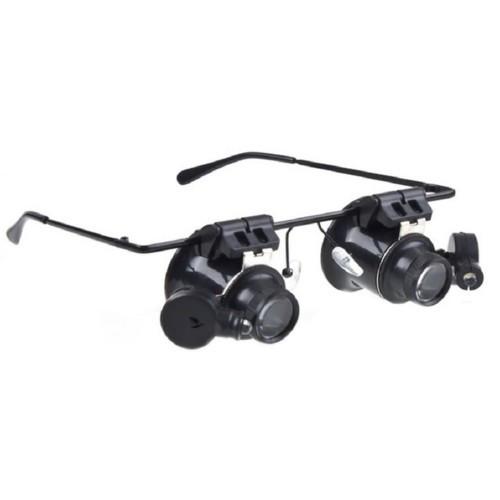 Збільшувальні окуляри для ювелірів і годинникарів, 20X лупа