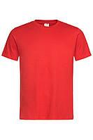Футболка Stedman Classic Men мужская хлопковая 155 г/м2 красная