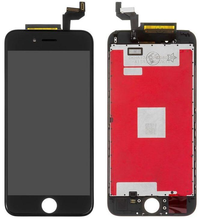 Дисплей Apple iPhone 6S с тачскрином и рамкой, оригинал, Black