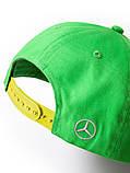 Детская бейсболка Mercedes-Benz Children's Flat Brim Cap, Green, артикул B66953158 Официальная коллекция, фото 2
