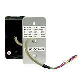 Система контроля доступа СКД панель RFID 125КГц+13.56МГц антивандальная, фото 2