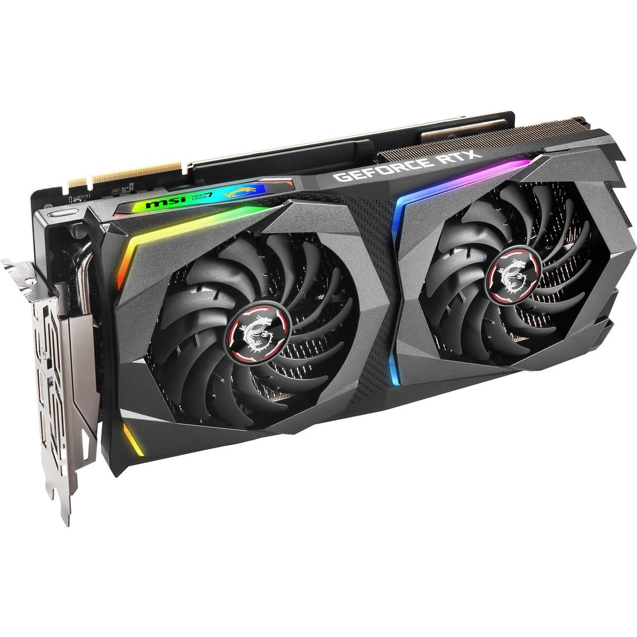 Видеокарта MSI nVidia GeForce RTX 2070SUPER , RTX 2070 SUPER GAMING X, 8ГБ, GDDR6, Ret