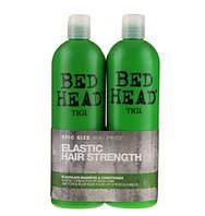 Tigi Bed Head Elastic hair Strenght Набор для плотности волос шампунь + кондиционер, 750 + 750 мл