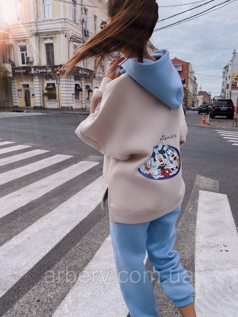 Шикарный зимний костюм с начесом Дисней