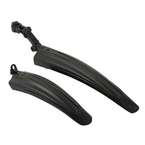 Комплект велокрыльев бризговики крила чорні велосипеда