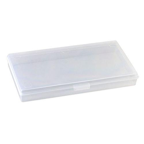 Коробка органайзер кейс для снастей бісеру 145х75х15мм без клітинок