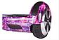 ГИРОБОРД  ГИРОСКУТЕР SMART BALANCE Сигвей Гіроскутер Гіроборд Сігвеї 6.5 Фиолетовый космос, фото 5