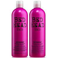 Tigi Bed Head high octane shine Набор для блеска  волос шампунь + кондиционер, 750 + 750 мл