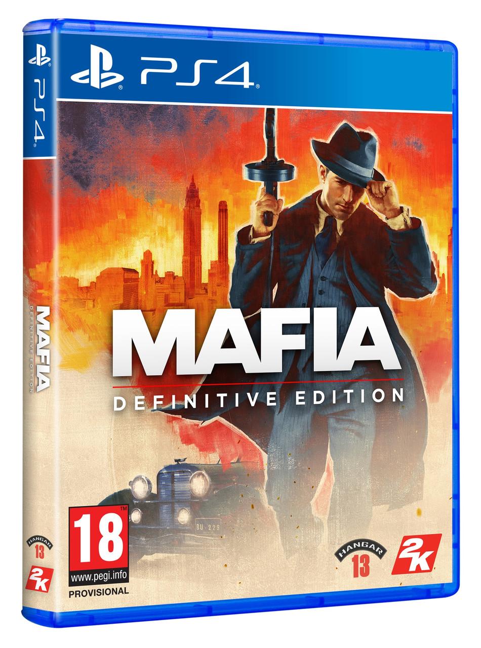 Гра Mafia Definitive Edition [Blu-Ray диск] (PlayStation)