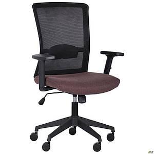 Кресло Uran Black сиденье Сидней-26/спинка Сетка SL-00 черная TM AMF
