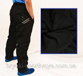 Брюки мужские зимние - плащевка на флисовой подкладке XL - 5XL Штаны мужские зимние - плащевка