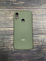 "Чехол Silicon Xiaomi Redmi Note 7 - ""Темная олива №34"""