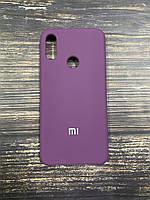 "Чехол Silicon Xiaomi Redmi Note 7 - ""Пурпурный №45"""