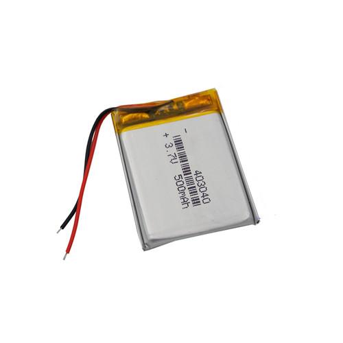 Аккумулятор 403040 Li-pol 3.7В 500мАч для RC моделей DVR GPS MP3 MP4