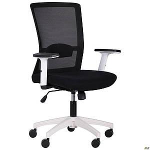 Кресло Uran White сиденье Сидней 07/спинка Сетка HY-100 черная TM AMF