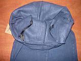 """Штаны женские джинсовые """"Ласточка"""" с  карманами на байке. Батал. р. 5XL. Синие., фото 5"""