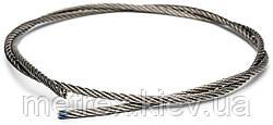 Трос із нержавіючої сталі 6 мм DIN 3055 6х7 А4