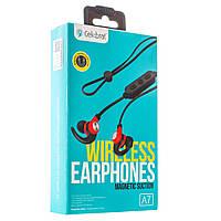 Stereo Bluetooth Headset Celebrat A7 Black 154416