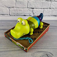 Іграшка каталка крокодил Клац-Клаус BX1674Z