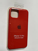 Чехол Silicone Case iPhone 11 Pro красный