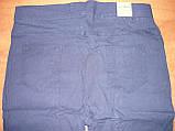 """Штаны женские джинсовые """"Ласточка"""" с  карманами на байке. Батал. р. 5XL. Синие., фото 9"""