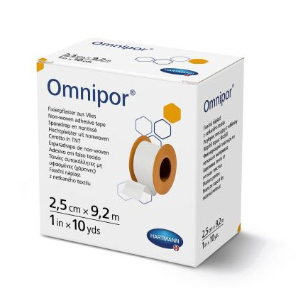 Пластырь Omnipor (Омнипор) 2,5см х 9,2м