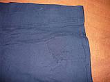 """Штани жіночі джинсові """"Ластівка"""" з кишенями на байку. Батал. р. 6XL. Сині., фото 9"""
