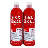 Tigi Bed Head rehab for hair resurrection Набор для восстановления  волос шампунь + кондиционер, 750+750 мл