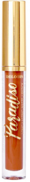 Рідка помада для губ матова стійка Relouis Paradiso № 05 Trendsetter 3,5 м