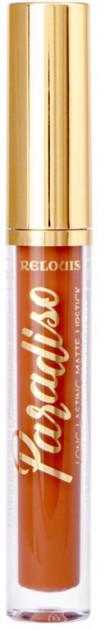 Жидкая помада для губ стойкая матовая Relouis Paradiso № 05 Trendsetter 3,5 г