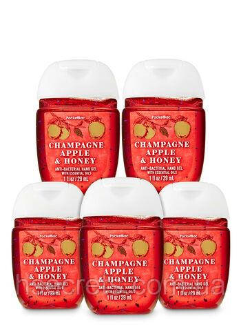 Санитайзер (антисептик) Bath & Body Works - Champagne Apple and Honey