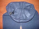 """Штаны женские джинсовые """"Ласточка"""" с  карманами на байке. Батал. р. 7XL. Синие., фото 6"""