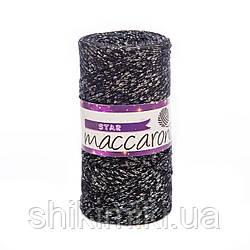 Трикотажный шнур с люрексом Star, цвет Антрацит