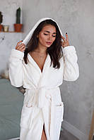 Махровый теплый женский халат , размер S, M, L, XL