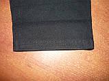 """Штаны женские джинсовые """"Ласточка"""" с  карманами на байке. Батал. р. 6XL. Черные, фото 5"""