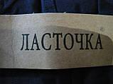 """Штаны женские джинсовые """"Ласточка"""" с  карманами на байке. Батал. р. 7XL. Черные, фото 3"""
