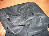 """Штаны женские джинсовые """"Ласточка"""" с  карманами на байке. Батал. р. 7XL. Черные, фото 6"""