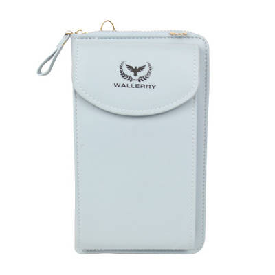 Женский кошелек клатч сумочка Baellerry Wallerry ZL8591 Голубой 154654