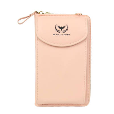 Женский кошелек клатч сумочка Baellerry Wallerry ZL8591 Розовый 153983