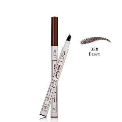 Жидкий карандаш с эффектом тату для бровей Music Flower 02# Brown коричневый 150739