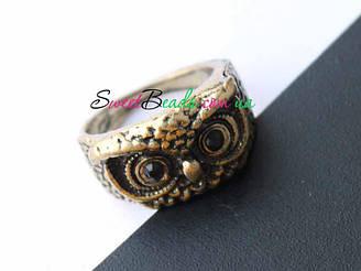 Кольцо Сова перстень, бронза