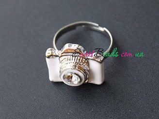 Кольцо Фотоаппарат, белый