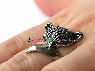Кольцо Лисица, серебро