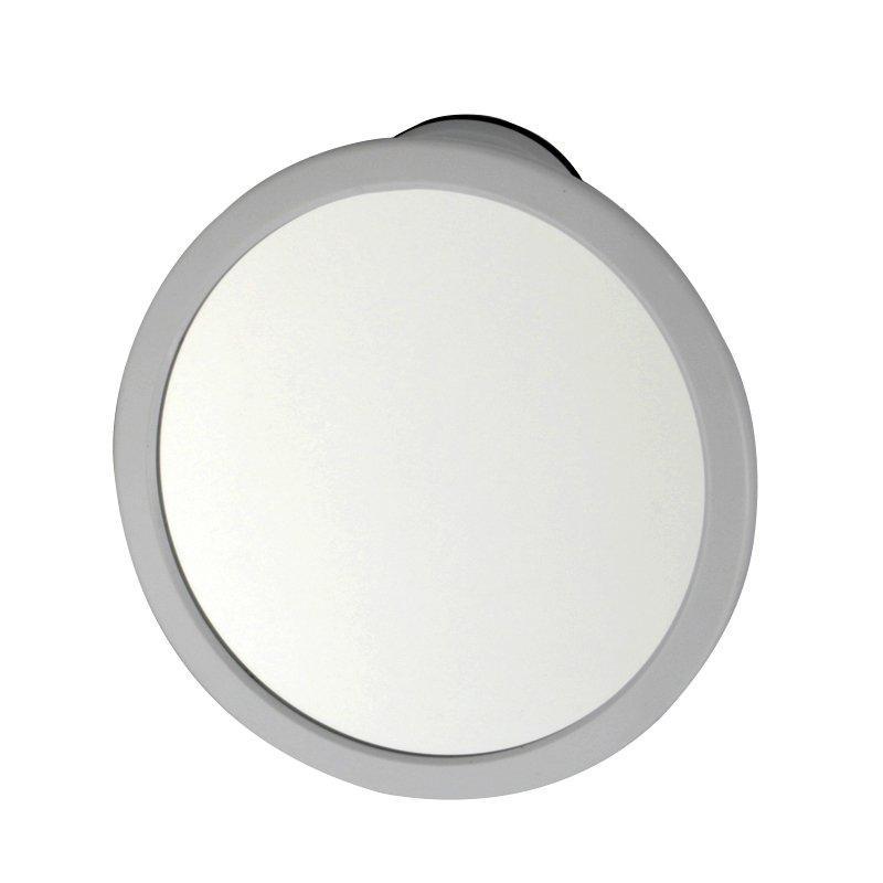 Дзеркало з поворотним механізмом на вакуумній присоску 16х16 см Bathlux 30148