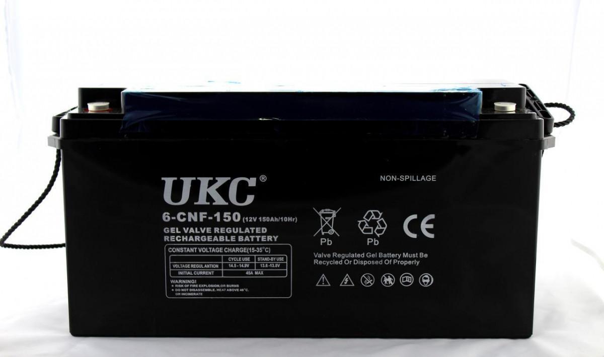 Аккумулятор Battery 12V 150A Ukc 180283