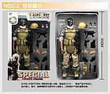 Игрушка солдат/swat 12 action figure, фото 4