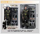Игрушка солдат/swat 12 action figure, фото 5