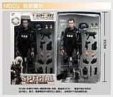 Игрушка солдат/swat 12 action figure, фото 6